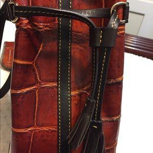 Dooney & Bourke Bags - Dooney & Bourke Textured Alligator Rachel Tote Set